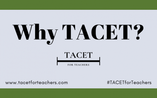 Why TACET?